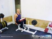 Упражнение: Подъем на носки сидя
