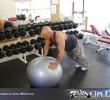 Упражнение: Ожимания от Мяча