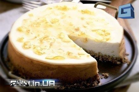 Рецепт: яблочно-лимонный чизкейк