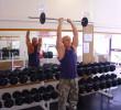 Упражнение: Разгибание рук со штангой из-за головы стоя (французский жим)