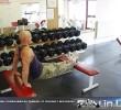 Упражнение: Обратные отжимания на трицепс от скамьи с ногами на скамье