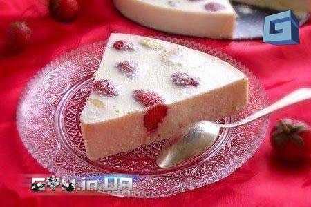 Рецепты: Творожно-сметанный десерт с фруктами