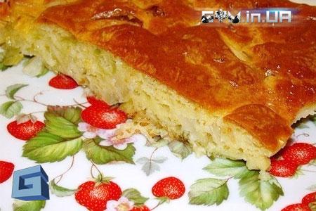 Рецепт: Быстрый капустный пирог для ленивых