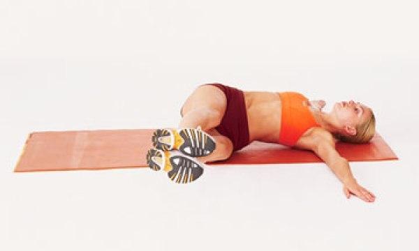 Качели для ног - упражнения для живота