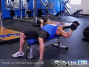 Упражнение: Сведение гантелей лёжа на горизонтальной скамье (Разводки)