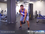 Упражнение: Тяга одной гантели в наклоне