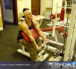 Упражнение: Тяга в скамье Скотта с нижнего блока