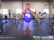 Упражнение: Шраги с нижнего блока