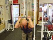 Упражнение: Разгибаниерук из-за головы с верхнего блока