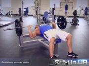 Упражнение: Жим штанги широким хватом