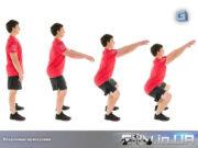 Упражнение Crossfit: Воздушные приседания